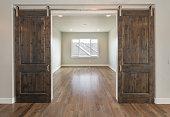 double sliding Farm house doors