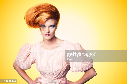 Beautiful Fashionista : Stock Photo