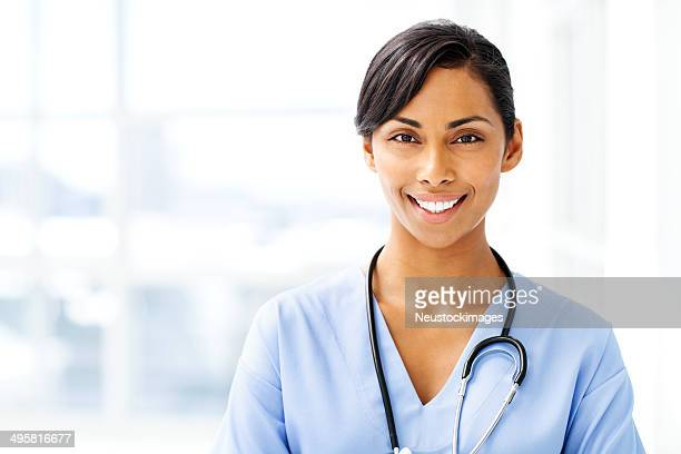 Beautiful Female Doctor Smiling