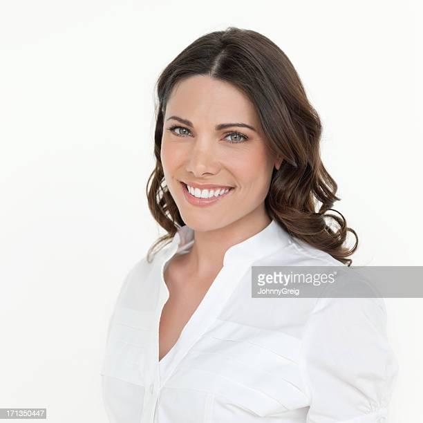 美しい笑顔の女性専用エグゼクティブ