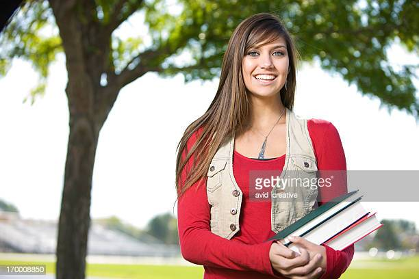 Beautiful Female Student
