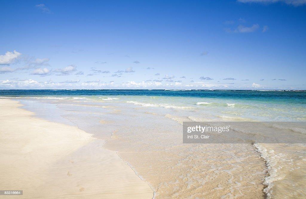 Beautiful flamingo beach, Culebra, Puerto Rico : Stock Photo
