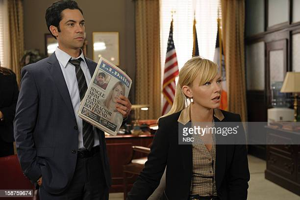 UNIT 'Beautiful Frame' Episode 1410 Pictured Danny Pino as Detective Nick Amaro Kelli Giddish as Detective Amanda Rollins