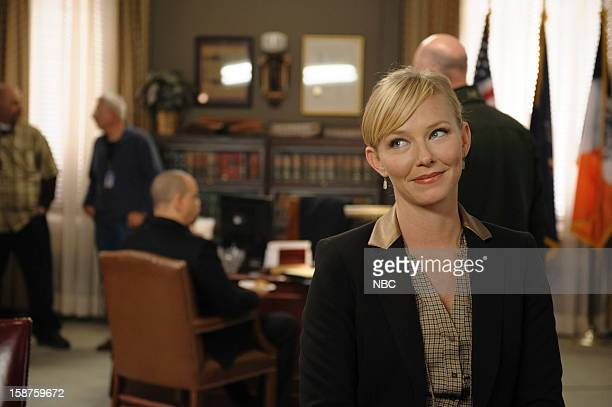 UNIT 'Beautiful Frame' Episode 1410 Pictured Kelli Giddish as Detective Amanda Rollins
