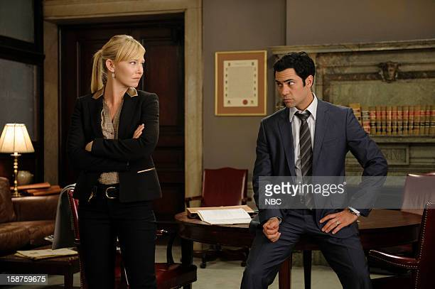 UNIT 'Beautiful Frame' Episode 1410 Pictured Kelli Giddish as Detective Amanda Rollin Danny Pino as Detective Nick Amaro