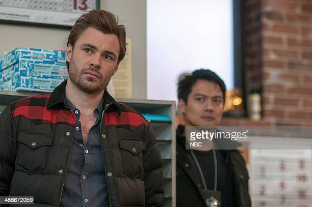 D 'A Beautiful Friendship' Episode 115 Pictured Patrick Flueger as Adam Ruzek Archie Kao as Sheldon Jin