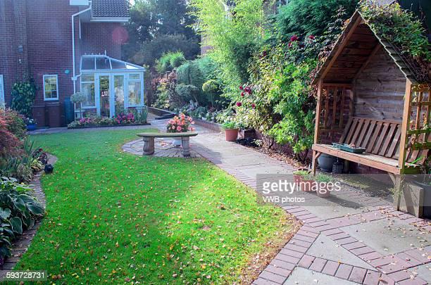 Beautiful Garden, Staffordshire, England