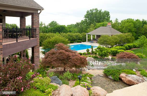 Beautiful Gardens with Swimming Pool
