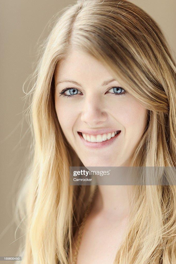 Beautiful Girl Headshot : Stock Photo