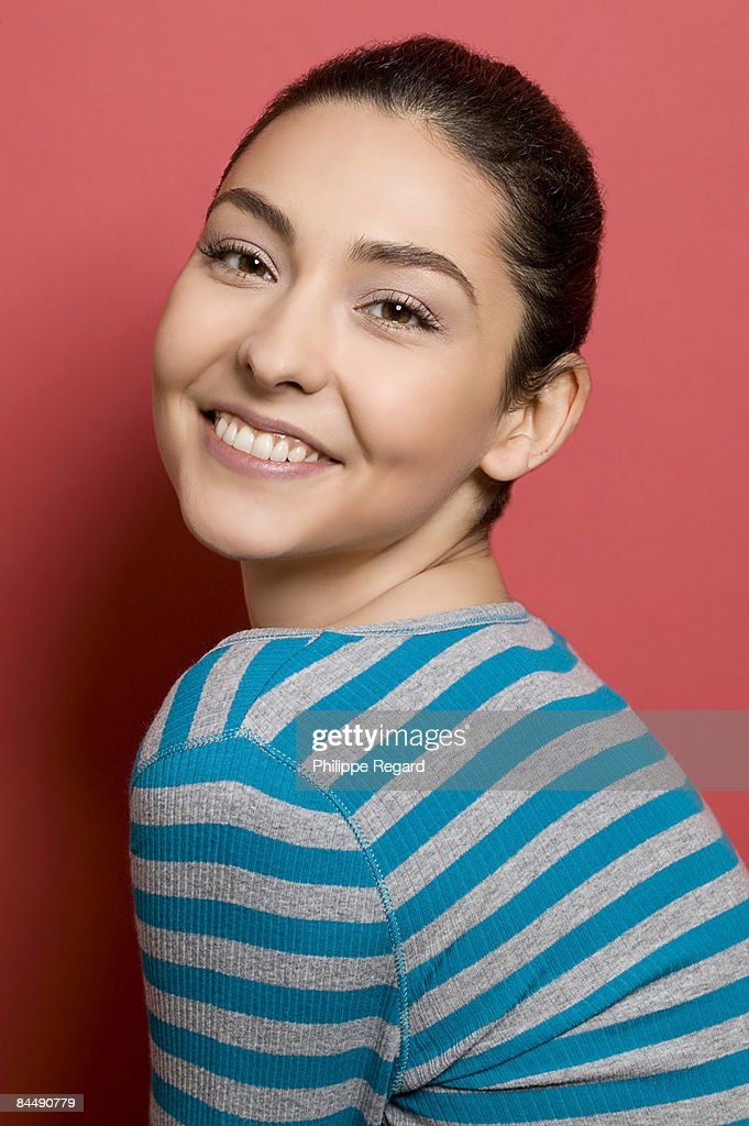 Beautiful girl smiling : Stock Photo