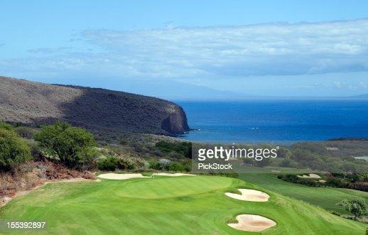 Beautiful Golf Course on Lanai Hawaii
