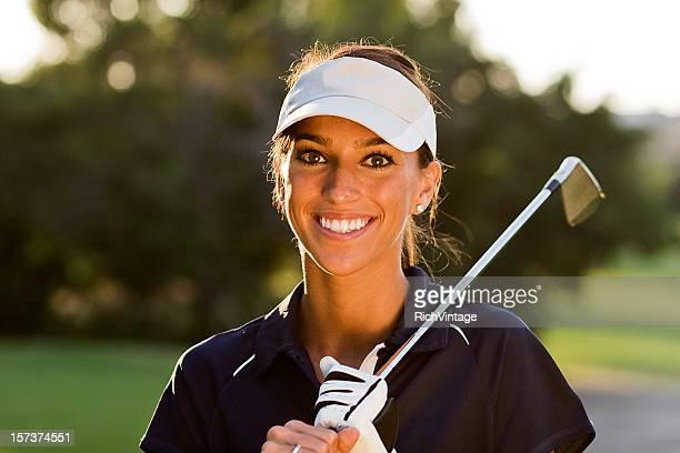 美しいゴルファー