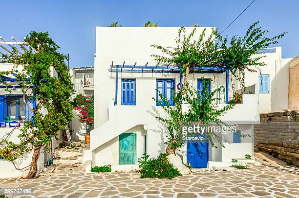 Beautiful Greek Island of Paros - Town of Naoussa