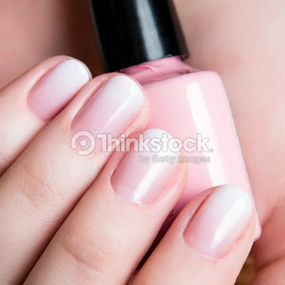 Beautiful Healthy Natural Nails Beauty Long Woman Nails Close Up ...