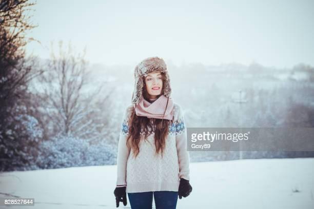 Beautiful healthy young woman