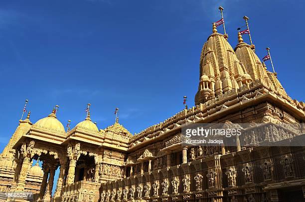 Beautiful Hindu Temple At The Dawn