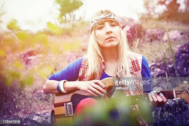 Wunderschöne Hippie