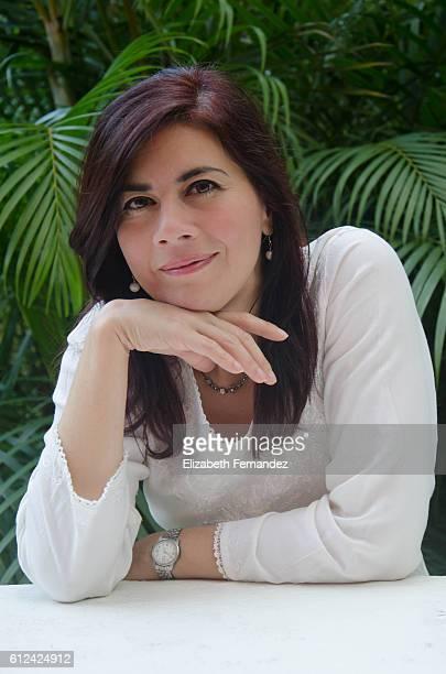Beautiful hispanic woman, portrait