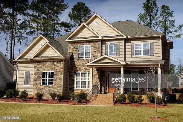 Schönes Zuhause Außenansicht