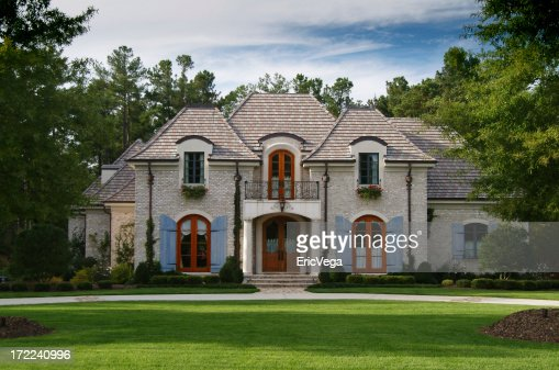 beautiful home exterior stock photo getty images