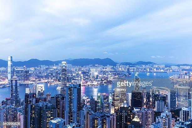 Beautiful Hongkong Night