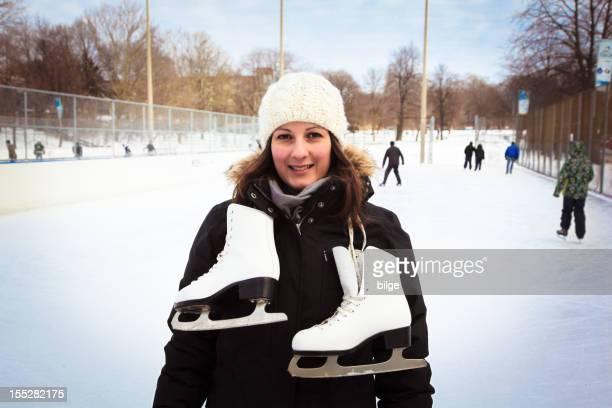 Beautiful Ice Skater
