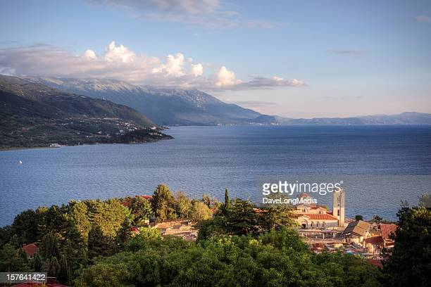 A beautiful image of Lake Ohrid Macedonia
