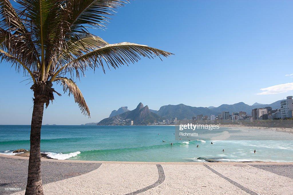 Beautiful Ipanema Beach in Rio de Janeiro