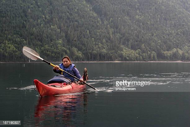 Beautiful Kayaker