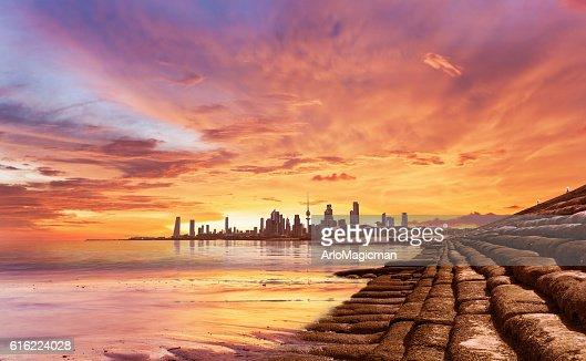 beautiful kuwait : Stockfoto