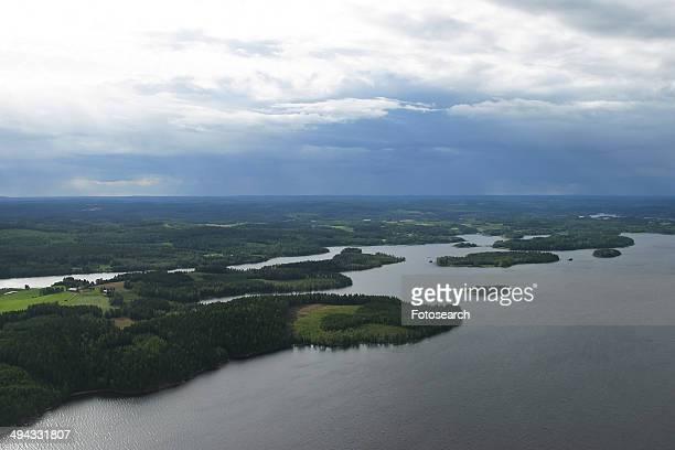 Beautiful land and water
