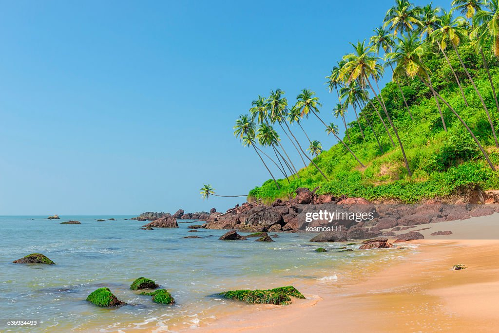 beautiful landscape in an exotic location shot day : Stock Photo