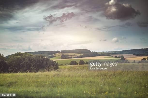 Beautiful landscape in Bavaria