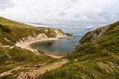 Beautiful landscape in Dorset, England