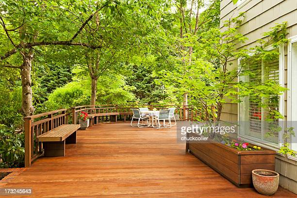 Beautiful Large Back Deck