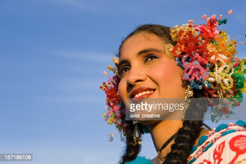 Beautiful Latino Girl Portrait