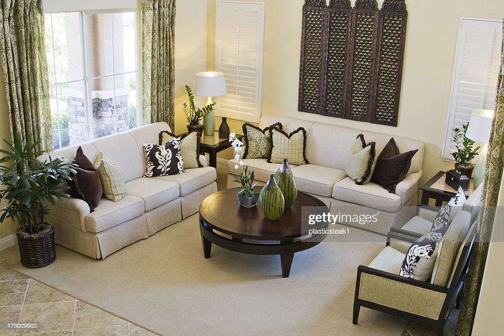 Beautiful Living Room : Stock Photo