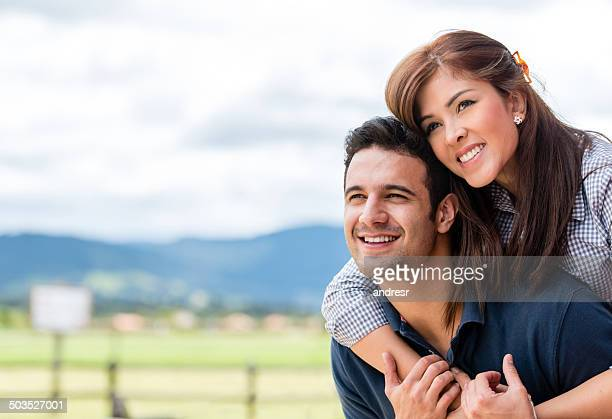 Beau couple amoureux
