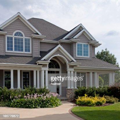 Beautiful luxury home exterior