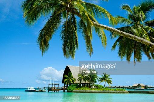 Beautiful Maldives Honeymoon Island and Summer Resort