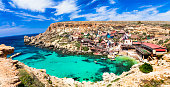 Famous Popeye Village in Malta.