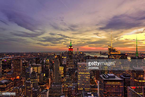 Beautiful Manhattan View at Dusk, New York City