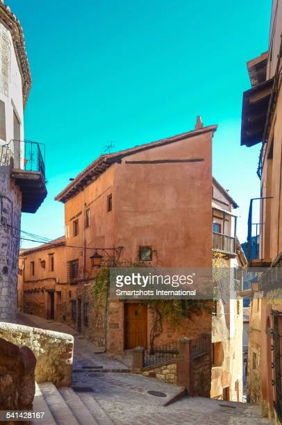 Beautiful medieval corner in Albarracin, Spain