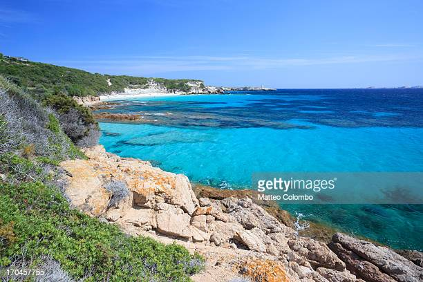 Beautiful Mediterranean sea in summer, Corsica