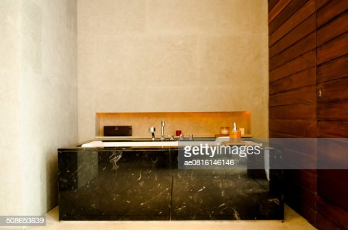 beautiful modern bathroom : Stock Photo