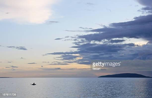 Belle journée sur la mer