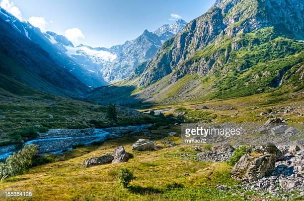 Magnifique paysage de montagne HDR