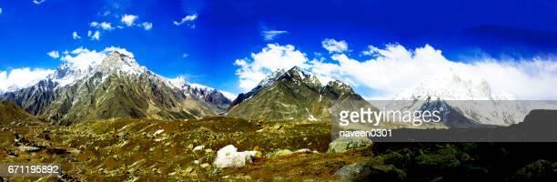 Beautiful Mountains in Himalaya - Bhagirathi Range