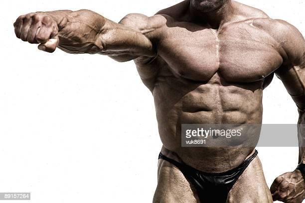 Schön Muskulös Körper