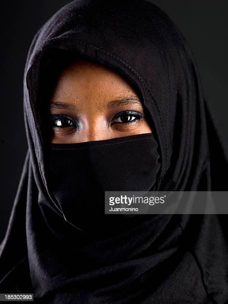 Beautiful muslim teenage girl